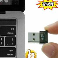 USB2.0 Bluetooth 5.0 Wireless Adapter Audio Music Stereo Dongle Receiver TV PC