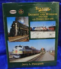 MORNING SUN BOOKS-TRACKSIDE around Detroit & Windsor 1943-1976 # 95 HC-128 pages