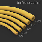 Natural or Black Latex Rubber Tube Slingshot Catapult Band Elastic Various Sizes
