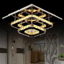 24W led Deckenlampe kristall LED deckenleuchte luxus Flurlampe warmweiß licht DE