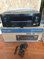 Boxed Black DENON AVR-X3600H 4K 9.2 IMAX Atmos Receiver boxed