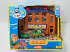 Take Along n play Thomas Sodor TIMBER YARD Percy Log Car