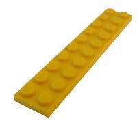 Lego 50 Stück Platte in gelb 2x10 gelbe Platten Neu City 3832 Basics Zubehör