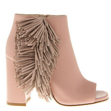 Authentic Loriblu Leather Italian Summer Boots New Sizes 7,8 Pink