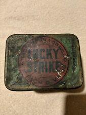 Vintage Lucky Strike tobacco tin
