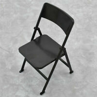 1/6 Scale Action Figure Folding Chair Furniture Kids Toys Plastic Supply Decor