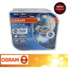 2 Lampade Osram H4 Cool Blue Intense Lampadine Fari Auto Effetto Xenon 4200K