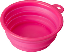 Collapsible Pet Dog Cat Feeding Bowl Pop Up Compact Travel Silicone Dish Feeder