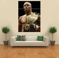 Anderson Silva UFC Giant Wall Art Poster Print