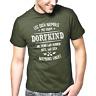 Leg Dich niemals mit einem Dorfkind an Fun Sprüche Lustig Spaß Comedy T-Shirt