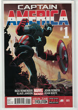Captain America #1 [2013] Marvel Now! Rick Remender & John Romita Jr. [MINT]