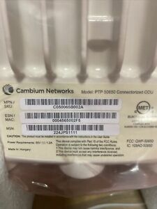 Cambium Networks - PTP650 - PTP 650 (4.9 to 6.05 GHz) Connectorized ODU