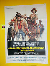 M106 I QUATTRO DELL'AVE MARIA - BUD SPENCER, TERENCE HILL , 1° ED. 1968