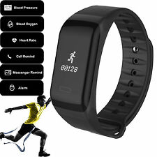 F1 Bluetooth Smart Sport Bracelet Blood Pressure Heart Rate for Android IOS