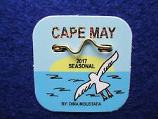 NEW, Unused, 2017 Seasonal Cape May, NJ Beach Tag/Badge, Free Shipping