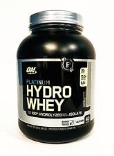Optimum HydroWhey Hydrolyzed Whey Protein 3.5 lb PICK FLAVOR Hydro Whey