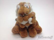 "Tiger Plush Carry Cub Jungle Cat Stuff Animal Geoffrey Inc 90s VTG Toys R Us 9"""