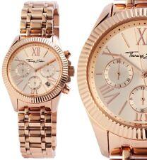 Damen Armbanduhr Chronograph Rosegold Edelstahl WA0222 Thomas Sabo 298,- € UVP