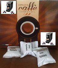 10 capsule caffè espresso compatibili UNO System INDESIT no ILLY KIMBO Napoli