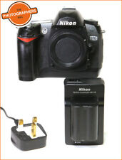 Nikon D70 Fotocamera Reflex Digitale Corpo, Batteria & caricabatteria GRATIS UK