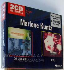 MARLENE KUNTZ - CHE COSA VEDI + IL VILE - box 2 CD Sigillato