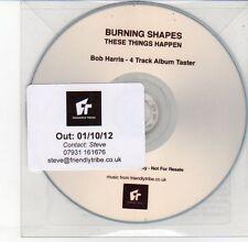 (DV618) Burning Shapes, These Things Happen - 2012 DJ CD
