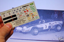 "DECAL CALCA 1/43 LANCIA STRATOS ""TERGAL"" J. DE BAGRATION 1975"