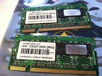 Alienware Clevo M55G Ram 1GB (512mb x 2)