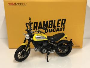 Ducati Scrambler Icon 62 Yellow 1:12 Scale TSM TSMMC0003 NEW