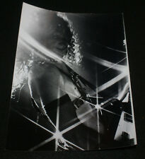 ANVIL LIPS LIVE IN STATEN ISLAND, NY B&W CONCERT PHOTO UNRELEASED PRO SHOT 1982