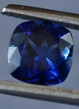 3.44tcw PAIR of Cornflower Blue KYANITE Gems, AGL Certified, Cushion Cut, Nepal