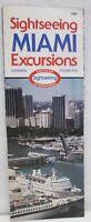 Vintage 1984 Sightseeing Miami Florida Excursions Brochure American Tours Omni