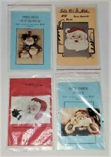 Lot of 4 New Santa Claus Tole Painting Pattern Packets Christmas Jean Zawicki +