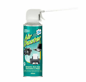 400ml Compressed Air duster Can Cleaner Spray Trigger Straw Fan Keyboard Cans