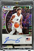 2020 Prizm Draft Picks Tyrique Jones Fast Break Disco Prizm Auto RC Xavier Great