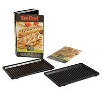 Tefal XA800312 Snack Collection GrillPanini Maker Non Stick Plates Set Accesso