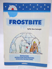 Anleitung - Handbuch - Bedienungsanleitung Atari - Frostbite