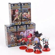 Super Dragon Ball Heroes 7th Anniversary SDBH PVC Figures Toys 5pcs/set SSJ Zeno