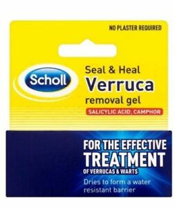 Scholl Seal and Heal Verruca and Wart Removal Gel 10ml