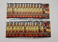 Lot of 24 Thundercats Bandai Trading Card Packs - 8 Cards Per Pack - Box Count