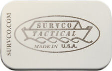 Survco Tactical Ultimate Survival Tin For Credit Card AX M4 Trailblazer Storage