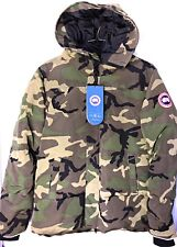 NWT Canada Goose Vetements Green Camouflage Oversized Parka Size XL Women's