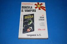 DRACULA IL VAMPIRO - Bram Stoker 1966 Longanesi Pocket 25