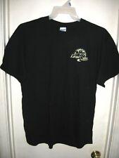 Gildan DMB Dave Matthews Band Local Crew Black Yellow T-Shirt L