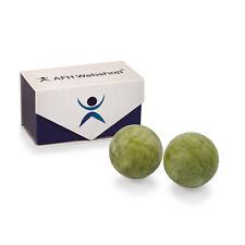Qigong Kugeln | Jade Stein grün | Ø: ca.50mm | ohne Klang | Meditation | Massage