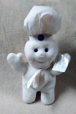 "PILLSBURY DOUGHBOY 16"" POPPIN FRESH Plush Stuffed Toy Doll DAKIN 1997 Giggling"