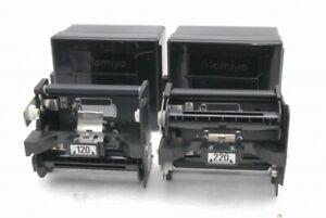 Mint Mamiya Film Back Holder Insert Cassette 120 and 220 M645 Super ProTL *F1738