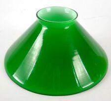 Glas Ersatzteile Lampe Ministerielle amerikanisch england 15 cm Kegel Grün