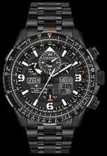 Citizen hombre $695 Eco-drive Skyhawk Atómica Ion Negro Reloj, las alarmas JY8075-51E