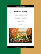 RACHMANINOFF SYMPHONIC DANCES FULL SCORE MASTERWKS